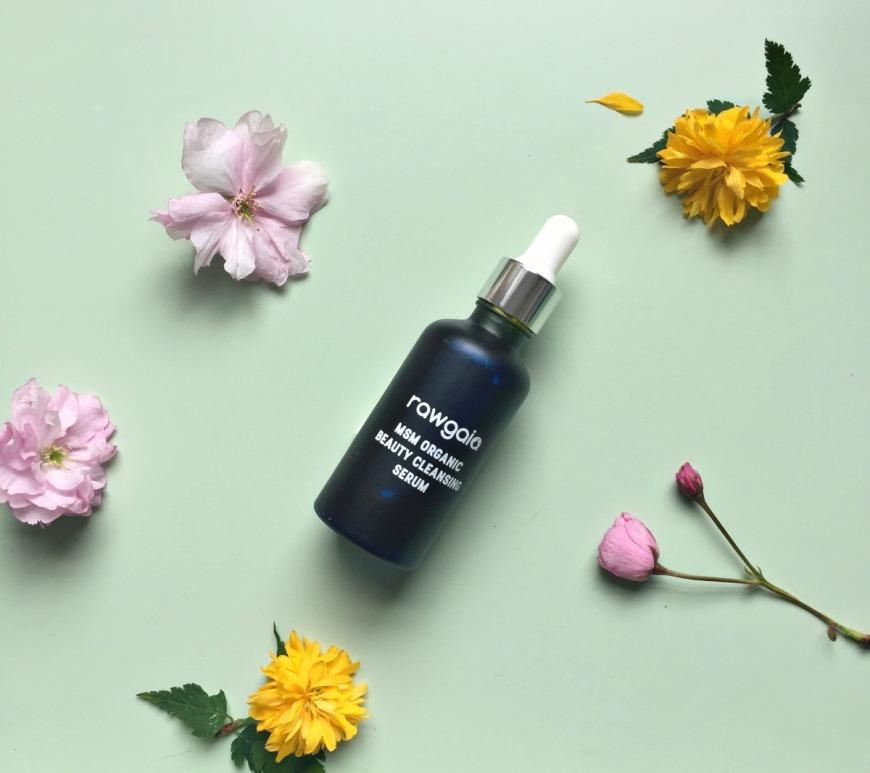 Rawgaia MSM Organic Beauty Cleansing Serum
