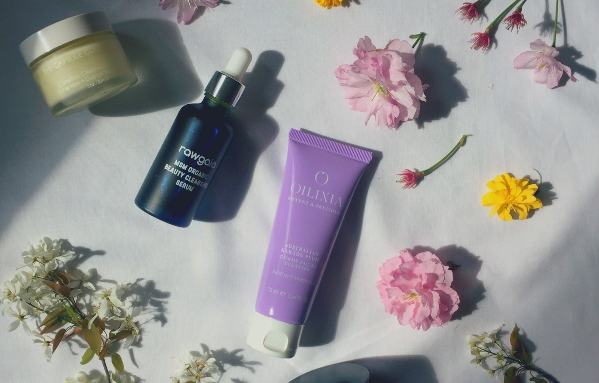 best luxury natural and organic cleansers spring 2017 - La Bella Figura, Rawgaia, Oilixia, Dafna's