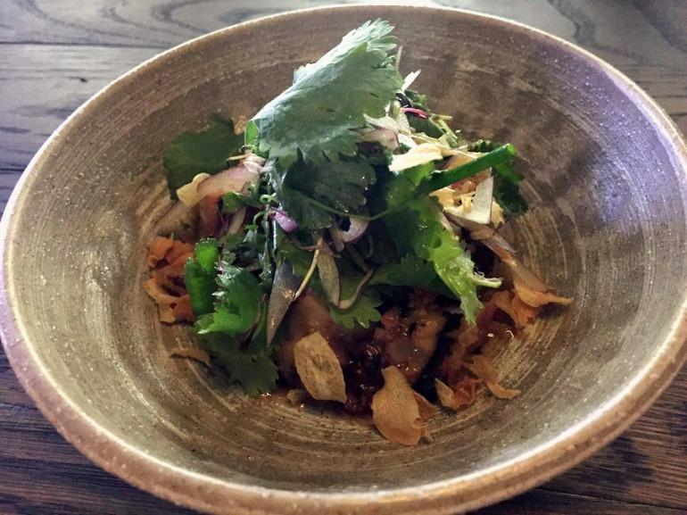 BBQ Octopus salad, Yuu Kitchen