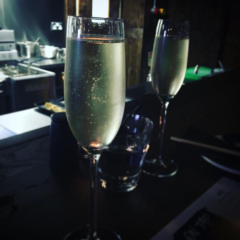 Sparkling wine on tap, Yuu Kitchen