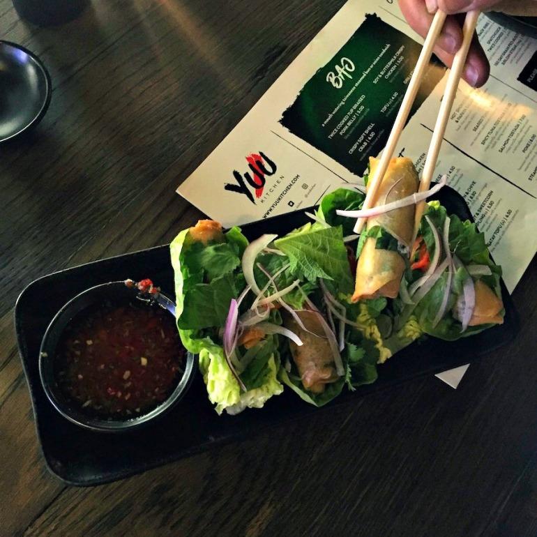 Vietnamese Vegetable Ssam, Yuu Kitchen