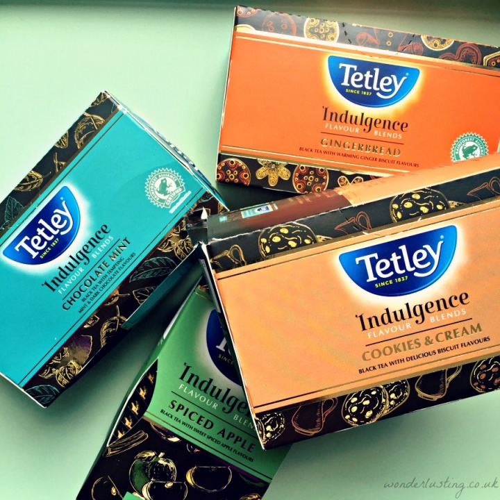 Tetley Indulgence Flavour Blends Review
