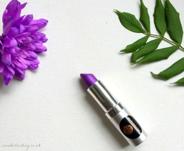 Momineral exotic lipstick review