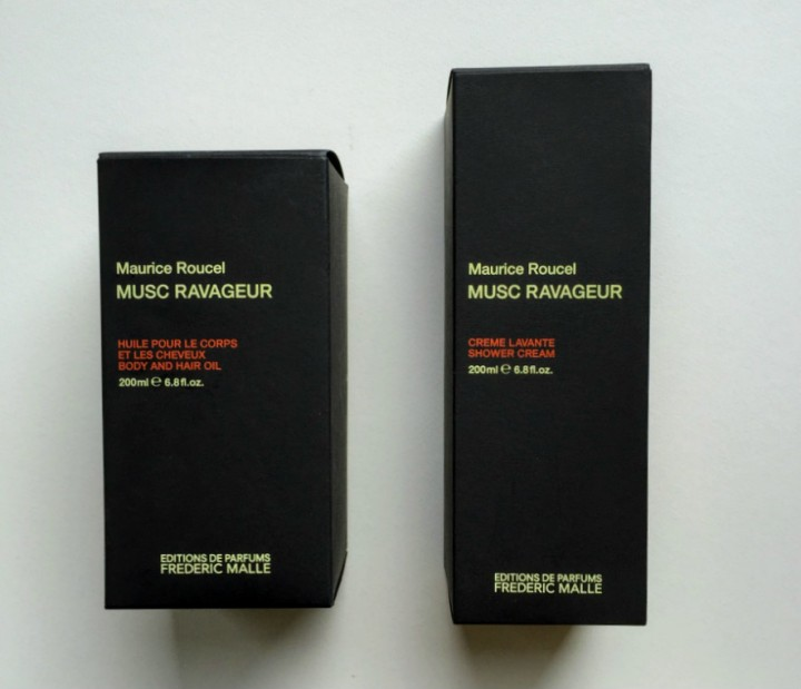 Frederic Malle Musc Ravageur Body Hair Oil and Shower Cream review