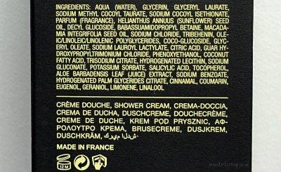 Frederic Malle Musc Ravageur Shower Cream ingredients
