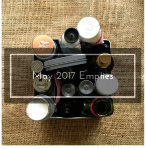 How Many Beauty Products Do You Use Up In A Year? Green Beauty Empties #3 2017