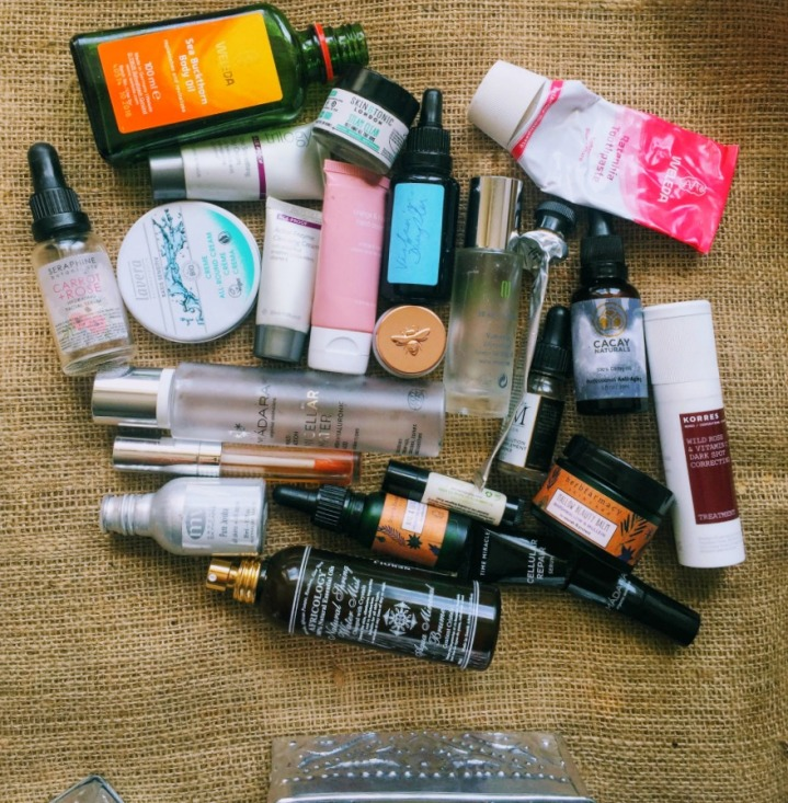 May 2017 green beauty empties