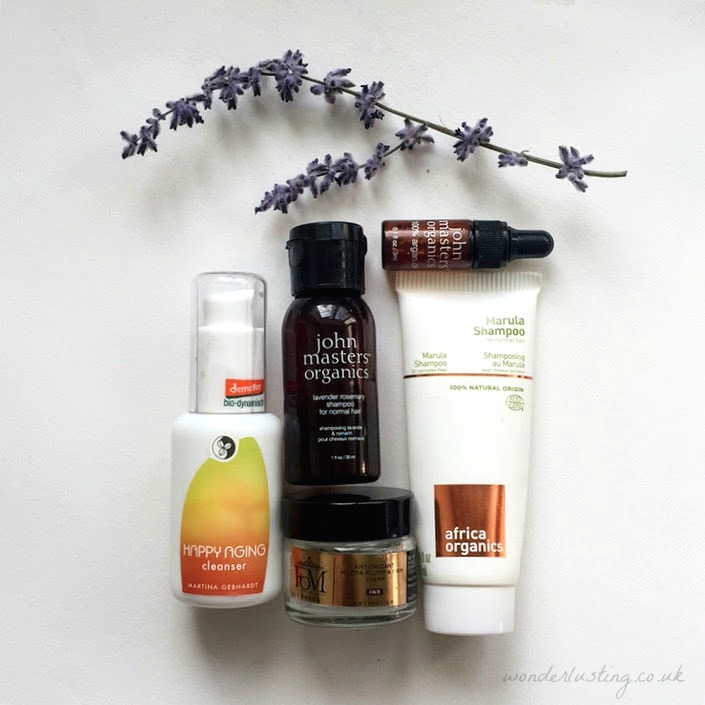 Green Beauty Empties June 2017 - Martina Gebhardt, John Masters, Africa Organics