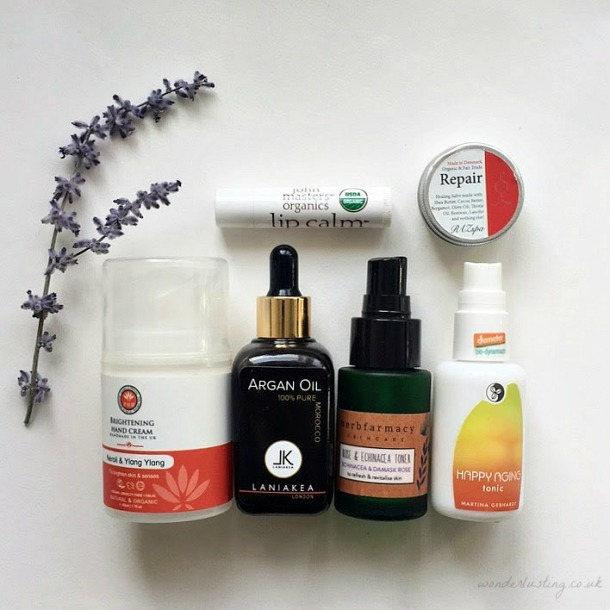 Green Beauty Empties June 2017 - PHB Botanicals, Laniakea, Herbfarmacy, Martina Gebhardt, Raz Spa, John Masters