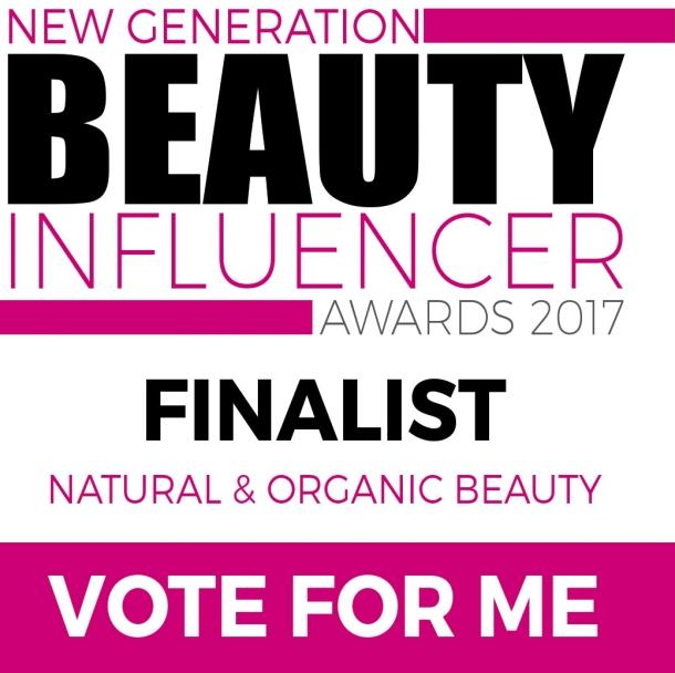 New Generation Beauty Influencer Awards Finalist