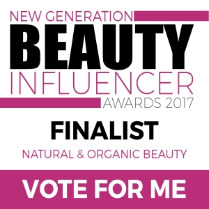 New Generation Beauty Influencer Awards Finalist