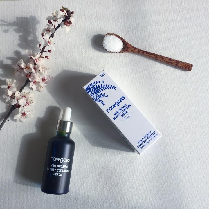 Raw Gaia MSM Organic Beauty Cleansing Serum Review