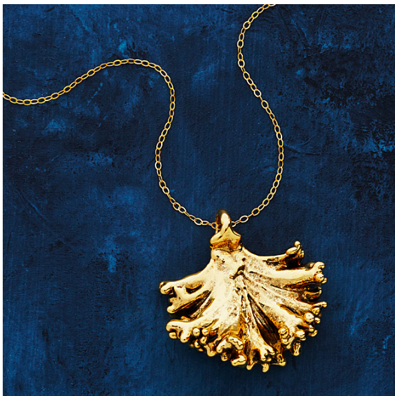 Dipped Kale necklace - Christmas gift idea
