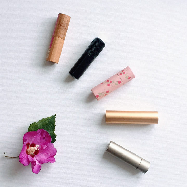 green beauty swap lipsticks