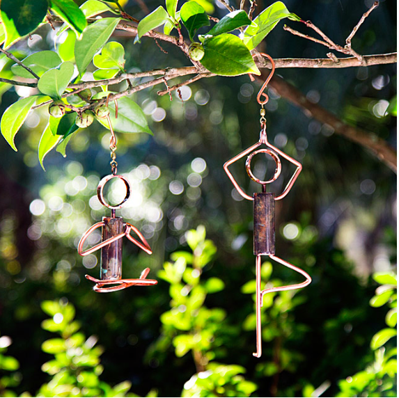 Sustainable Christmas Gift - Yoga Pose Hanging Sculpture Catherine Murphy