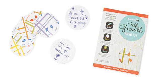 Sustainable Gift Idea - Plantable Wish Cards