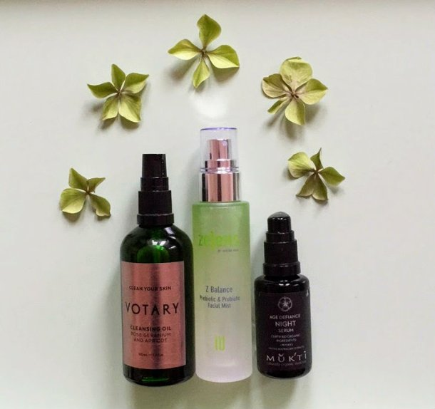 Votary cleansing oil nightime routine