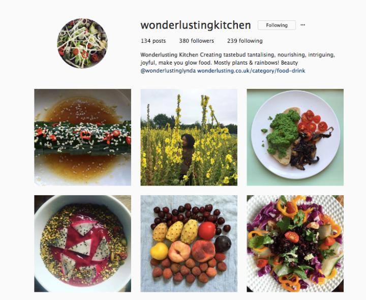 Wonderlusting Kitchen Instagram