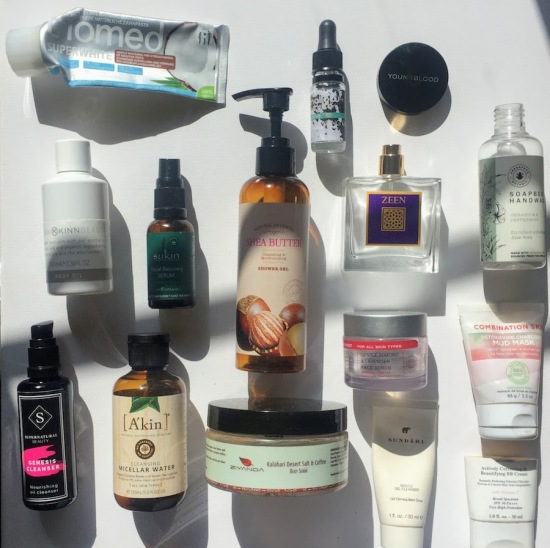 Green beauty empties