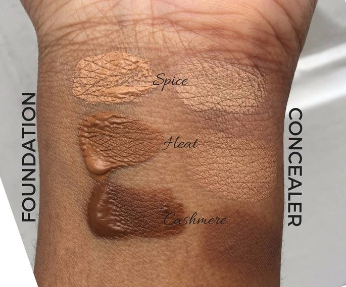 Alima Pure Foundation and Concealer Review and Swatches