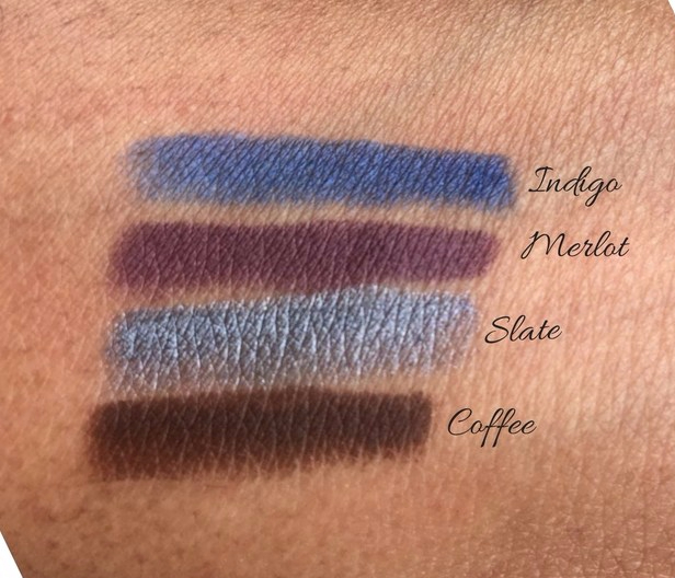 Alima Pure Natural Eye Pencil Review and Swatches