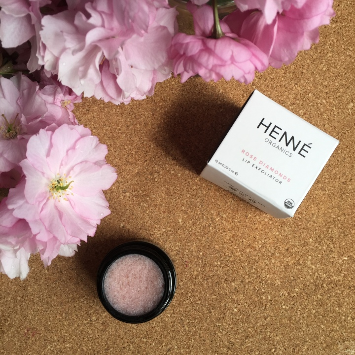 henne rose diamond lip exfoliator