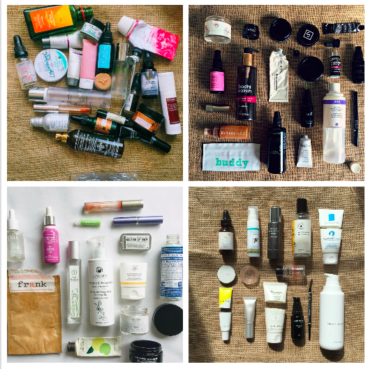 My Year of Green Beauty Empties