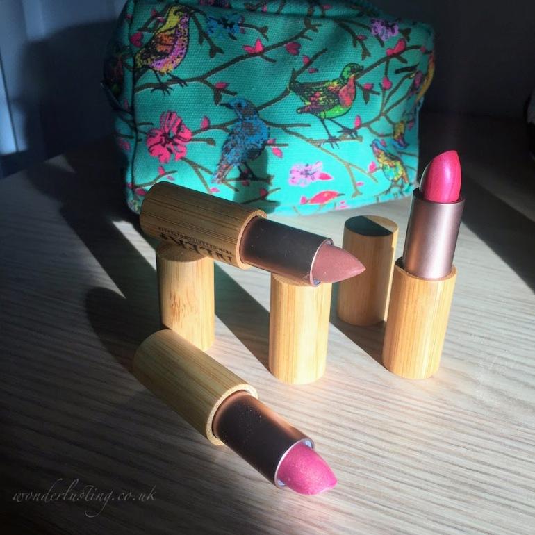 Neek vegan lipsticks review and swatches