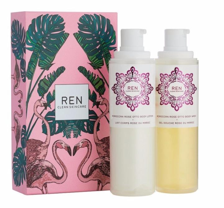 REN Moroccan Rose gift set Silken Favours