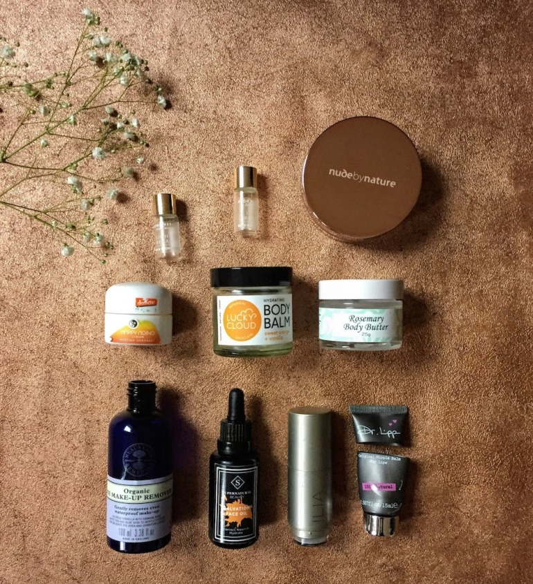 green beauty empties - marry - November 2017