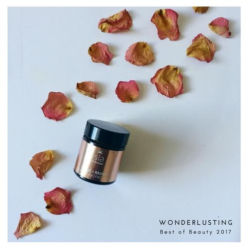 wonderloving 2017 Isla Apothecary Refine & Radiate Beautifying Mask