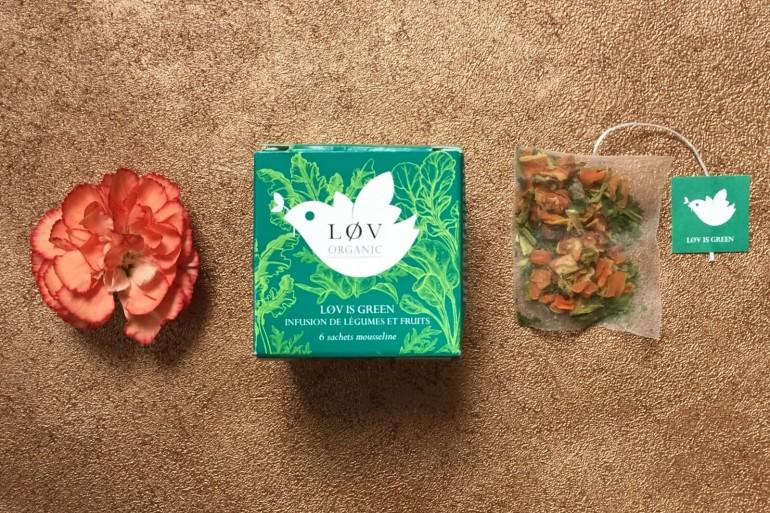 Lov is Green tea review