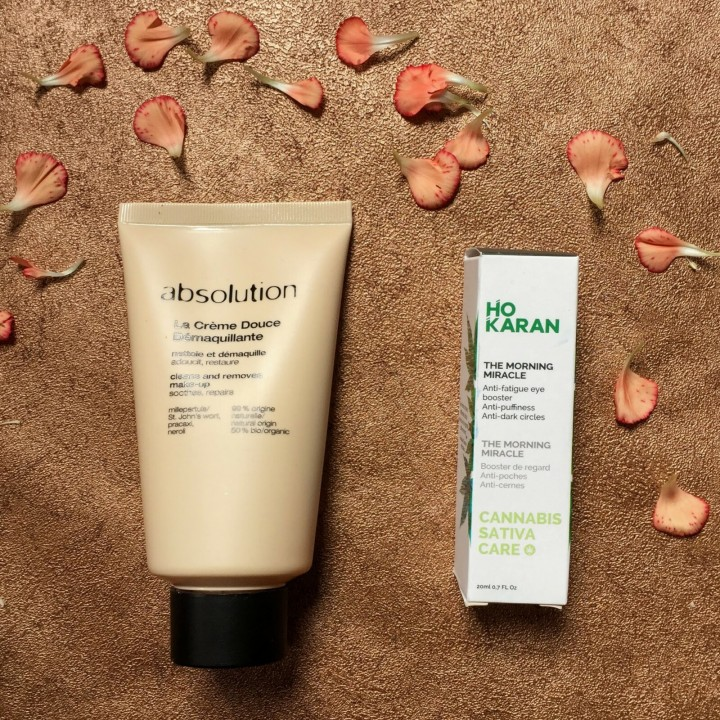 Absolution cream cleanser and Ho Karan The Morning Miracle