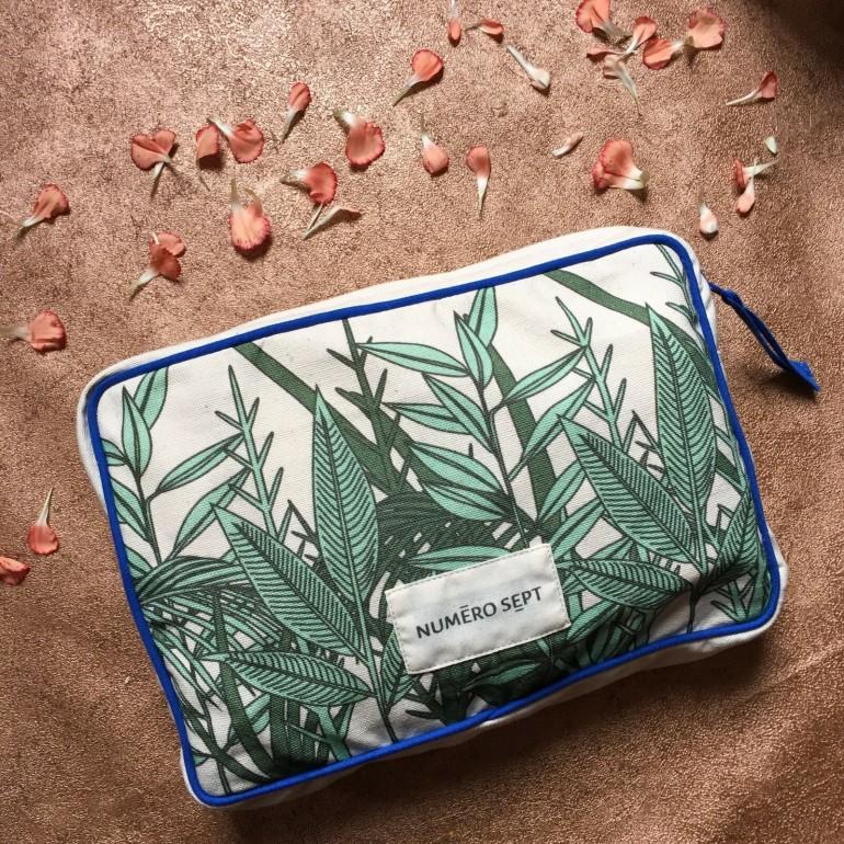 Numero Sept wash bag - Birch Box