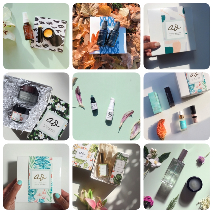 Art of Organics The Clean Beauty Box review