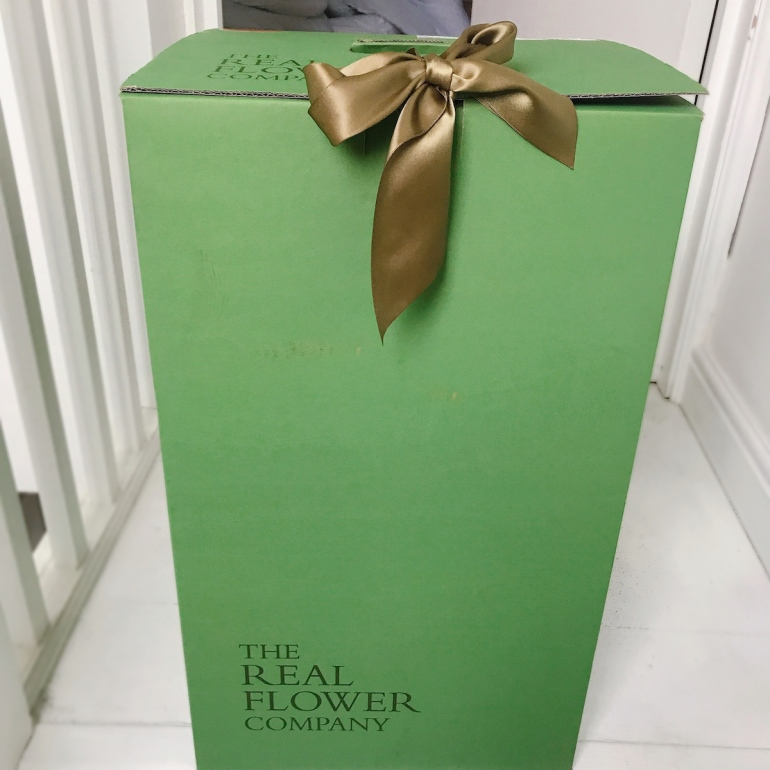 The Real Flower Company flower box