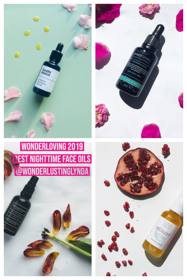 wonderloving best nighttime face oils