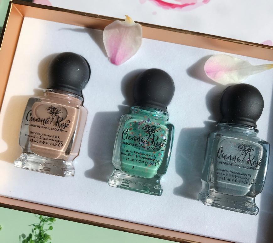 Cienna Rose 12-free nail polish