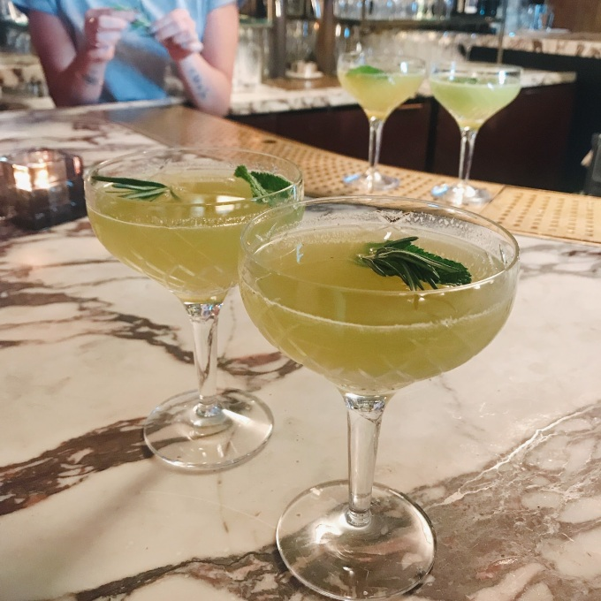 OTO CBD cocktail with everleaf
