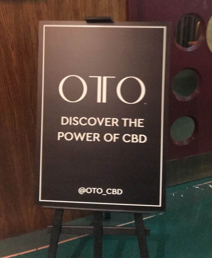 OTO CBD launch White City House