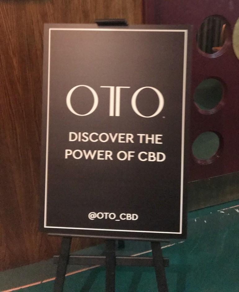 OTO CBD launch White City House