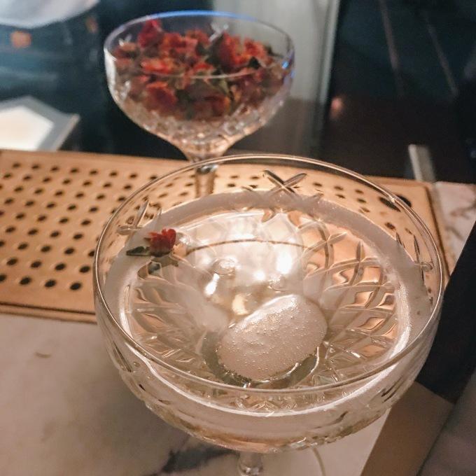 OTO CBD Prosecco cocktail